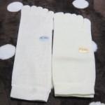 正活絹と奈良県広陵町の冷えとり靴下の比較