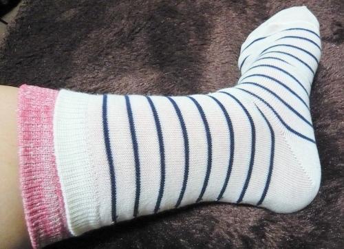 ベルメゾン 冷えとり靴下